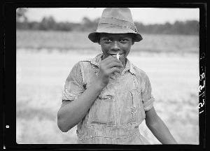 Negro Boy, Florence, South Carolina, 1938. Cox. (FSA)
